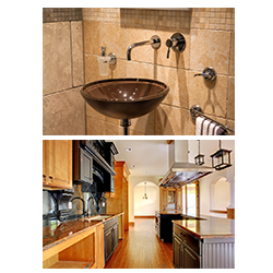 Bathroom and Kitchen Remodeling
